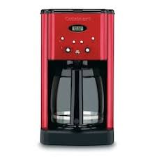 Cuisinart Metallic Brew Central 12 Cup Programmable Coffee Maker Red