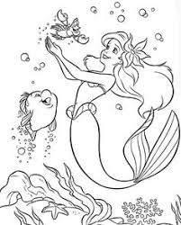 Colouring Pages Coloring Disney Princess Little Mermaid Ariel For Kids Free Printable