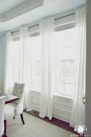 Use Existing Dining Room Curtains Make Curtain Rods Kelley Nan The Favorite White Budget Friendly