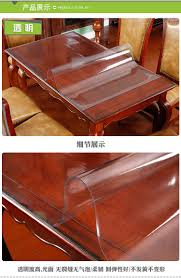 (1.5mm Transparent)Thick Crystal Clear Table Protector For Dining Room  Table - Rectangular Plastic Protective Table Pad Kitchen Wood Grain Vinyl  ... Upholstery Fabrics Fabric Whosale Direct Home Fniture At Table Pads Custom Glass Ding Room Tables And Chairs Top Clear Round Tablecloth Cover Laminet New Improved Deluxe Heavyduty Waterproof Spill How To Make Removable Chair Covers Recover A Hgtv Amazoncom Honjekitchen Protector 60 X 90 Oval Transparent Modern For 4 Design Ideas 18 X Inch Wood Coffee Side For Large Pub Bar Desk Tabletop Countertop Topper Plastic Placemats
