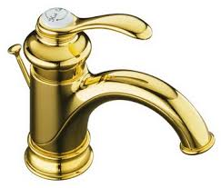 Kohler Fairfax Bathroom Faucet by Kohler K 12182 Pb Fairfax R Single Control Lavatory Faucet With