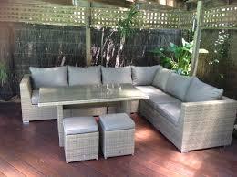 Outdoor Furniture Mateus Low Dining Backyard