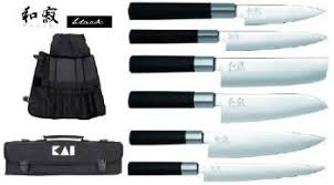 malette cuisine malette de 6 couteaux de cuisine wasabi black