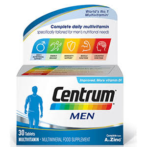 Centrum Men Multivitamin - 30 Tablets
