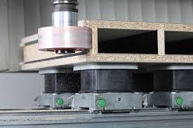 schmalz vacuum blocks for cnc woodworking machines from biesse
