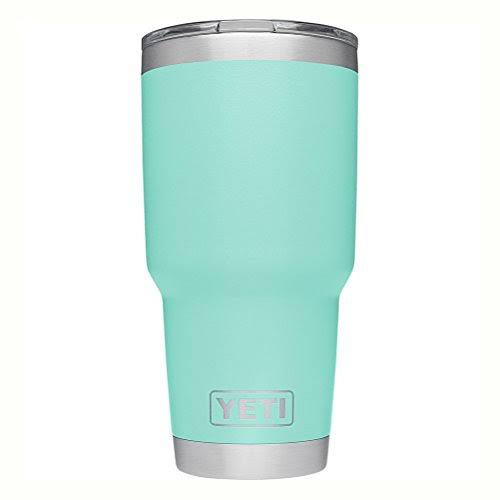 Yeti Rambler Stainless Steel Vacuum Insulated Tumbler - 30oz, with Lid, Seafoam
