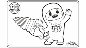 20 Cbeebies Colouring Pages To Print
