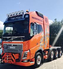 100 Commerical Trucks VOLVO FH16750 HeavyHaulage PrimeMover Cool Trucks