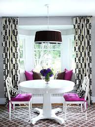 Bay And Bow Window Treatment Ideas Better Homes Gardens Dining Room Curtains Decorating Formal