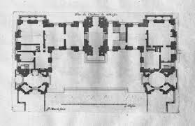 Chateau Floor Plans Ground Floor Plan Of The Château De Maisons 1642 1651 By