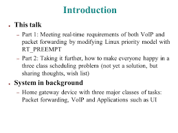 Solving Real-World Real-Time Scheduling Problems With RT_PREEMPT ... Tg670 Wireless Residential Voip Gateway User Manual Telemarketing Guide Selling Hosted Voice Over Ip Services To The Amount Of Data And Bandwidth Required For Graphics Photos Mobile Applications As A Service Cisco Qa Over Ip Telephony Advance Computer Networks Lecture15 Ppt Video Online Download Quantifying Qos Requirements Network A Cheatproof Volte Or Lte Who Is The Ultimate Winner Imagination Qos Level Agreements Application Sla