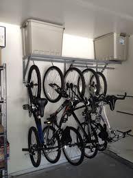 Ceiling Bike Rack For Garage by Bikes 3 Bike Floor Stand Gear Up Steady Rack Horizontal Ceiling