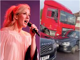 100 Female Truck Driver Ellie Goulding Jumped Out Of Her Vehicle To Help A Driver