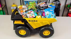 100 Tonka Truck Videos HUGE Surprise Toys Bucket Toy Surprise Egg S