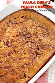 Pecan Pumpkin Bars Paula Deen by Paula Deen U0027s Peach Cobbler Can U0027t Stay Out Of The Kitchen
