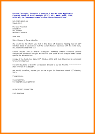 Bank Account Closing Request Format Letter New Current Opening