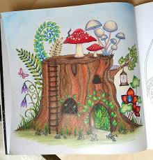 351 Best Coloring Enchanted Forest Images On Pinterest