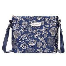 100 Sea Shell Design A Cross Body Everyday Bag With A In A Tapestry