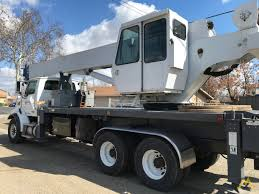 100 Ton Truck Manitex 38124S 38ton Boom Crane On Sterling LT9513 For Sale