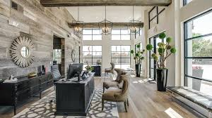 Leasing Office At The Callie Apartments In Dallas TX