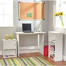 Mainstays Student Desk Multiple Finishes by Amazon Com Student Desk Set With Bookcase And Storage Cube 3