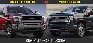 100 Chevy Gmc Trucks 2020 Chevrolet Silverado HD Vs 2020 GMC Sierra HD Poll GM