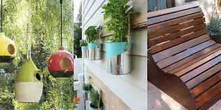 Forget Boring Furniture And Decor That Everyone Has Upscale Your Outdoor Space With A Few Inexpensive Supplies These DIY Ideas