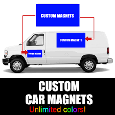 Custom Magnets 12 Inches X 18 Inches Signs Magnetic Business Logo ...