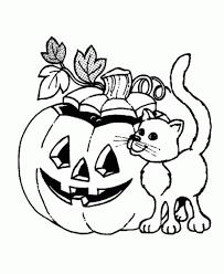 Pumpkin Coloring Pages Preschoolers