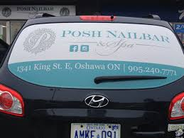 Ompleted Rear Window Graphics For Posh Nail Bar In Oshawa. Loving ... Back Lit American Flag Wrap Rear Window Tailgate Graphics Decal Kit Custom Truck Beautiful For Utah Pickup Elegant Vehicle Lettering The Sign Shop Livery Makers Chevrolet Chevy Flame Bowtie Vipsellingcom Pin By See Through Perforation Fort Lauderdale Bow Hunter And Bw Lets Print Big Ohio State Buckeyes Graphic Star Wars Millennium Falcon Pinterest P179 Eagle Tint 65 X 17 Universal Perforated Car Signage Arts Atlas Elevator Coastal Design Llc