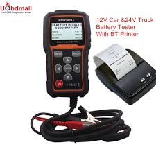 100 Heavy Duty Truck Battery Universal Foxwell BT705 BT 705 Analyzer Test Bad Cell For