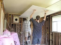 Sheetrock Over Ceiling Tiles by Sheetrock Over Plaster Ceiling Pranksenders