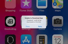 Unable to Update or Download App on iPhone or iPad Try