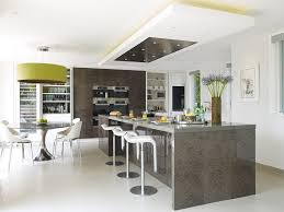 drop ceiling lighting kitchen contemporary with