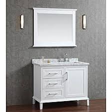 46 Inch White Bathroom Vanity by Hilford 46 Inch Single Sink Bathroom Vanity Set