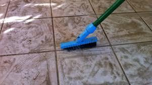 best way to clean ceramic tile floors