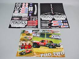 100 Slash Rc Truck RC 110 Short Course Baja Decals Stickers THE BOSS SC10