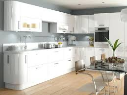 White Kitchen Tree High Gloss Cabinets Island Christmas Shop