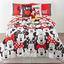 Minnie Mouse Twin Bed In A Bag by Disney Minnie Mouse Who Am I Twin Full Reversible Comforter