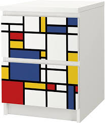 2 tribal decal for ikea malm diy furniture 2 drawer set