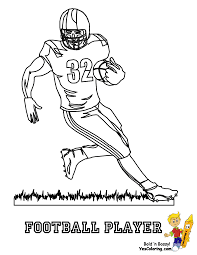 Coloring Pages Of Nfl Football Players 3