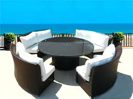 Ebay Rattan Patio Sets by Dining Table Rattan Round Dining Table Base Wicker Chairs Set