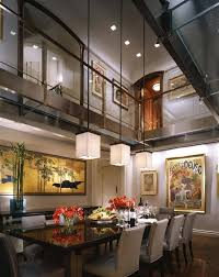Pendant Lights For High Ceilings Awe Inspiring Lighting Contemporary Dining Room With Home Ideas 3 Lamp Ceiling Inspi