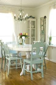 blue dining table set room white chairs furniture teal chair