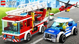 LEGO CITY - Cartoons, Games For Baby | Police Car, Fire Truck: BEST ...