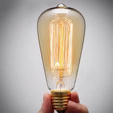 aliexpress buy vintage edison bulb st64 retro l