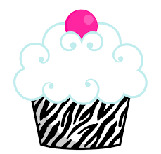 Cute birthday cupcake clip art free clipart images