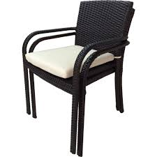 River Espresso Stackable Wicker Outdoor Dining Chair With Cream ... Patio Chairs At Lowescom Contemporary Ding Chair Stackable Recyclable Product And Modern Lowes Round And Ding Outdoor Costco Alinum Depot Noble House Dover Multibrown Stackable Wicker Chair Mercury Row Corrales Stacking Reviews Wayfair Plastic Herman Miller California White Furnish Vifah 3d 2 Included In Outdoor Chairs Backydinajarcom Trade Winds Restaurant With Centauro Cantilever Couture
