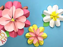 Easy Paper Flower DIY