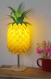 This Pineapple Lamp Made From Plastic Spoons Is Found Over On CraftFoxes Its A Little Bit More Funky Than The Other Crafts So Far But Definitely